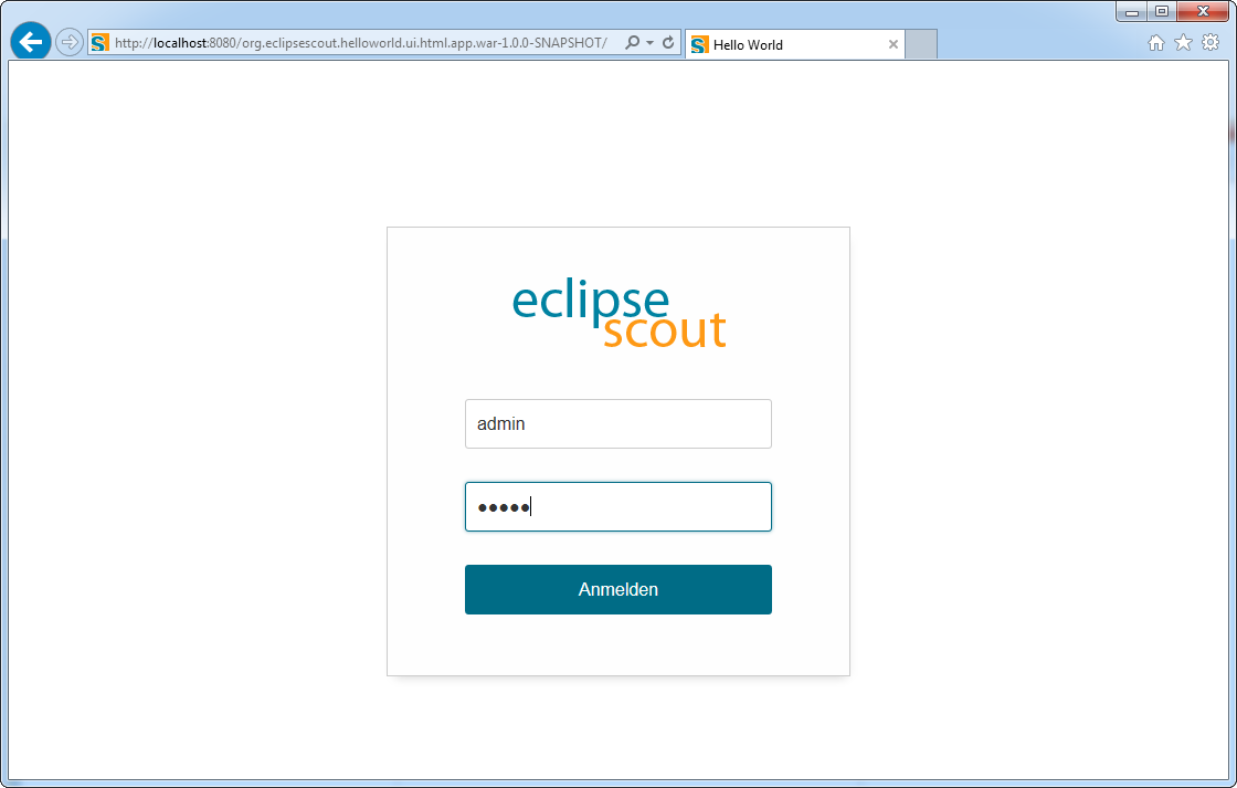 Eclipse Scout Beginners Guide